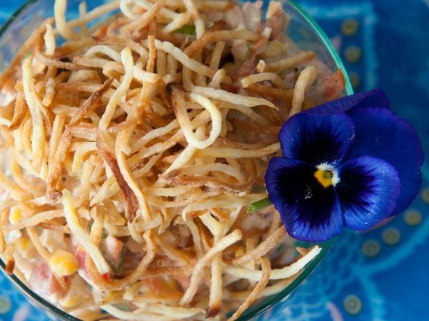 Salpicão saudável é uma ótima pedida pra um almoço rápido e delicioso!