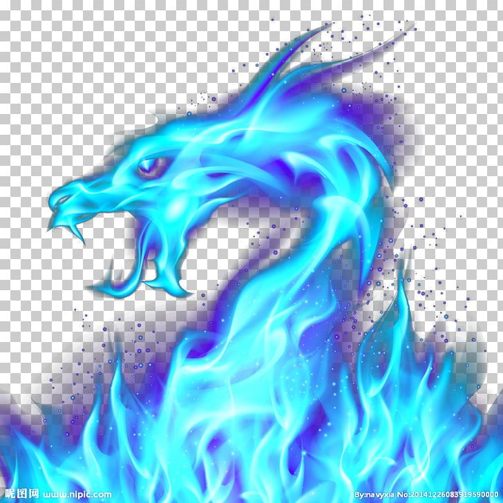 Pin By Blazefire On Dragons Blue Flame Tattoo Blue Flames Dragon Illustration