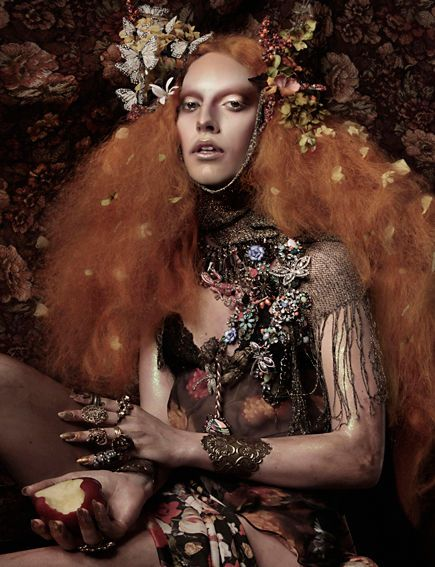 Majestically Shrunken Editorials - This AORTA Editorial in Schon Magazine is Playfully Dressed Up (GALLERY)