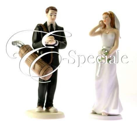 Cake Topper Sposo Golf - Prodotti per Cake Topper - Cake Topper Sportivi - accessori e gadget per matrimoni e feste - E-speciale