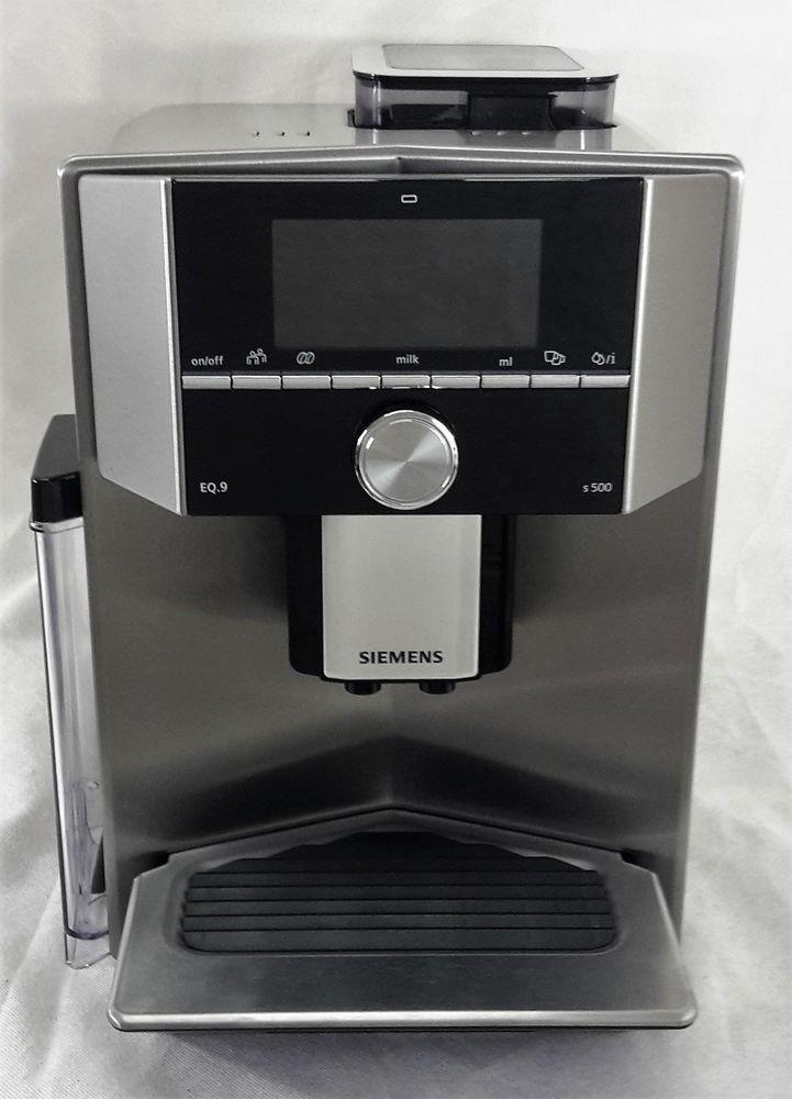 Kaffeemaschine Kaffeevollautomat Siemens Eq 9 S500 Ti905501de