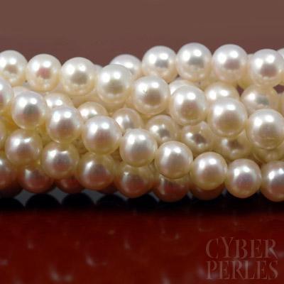 AA grade freshwater pearl  Perle de culture d'eau douce grade AA