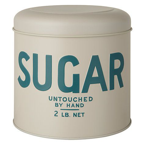 Vintage by Wayne Hemingway Sugar Storage Tin Online at johnlewis.com
