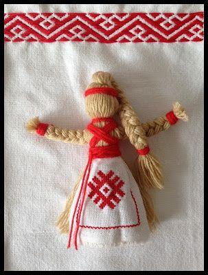 Slavic doll - inspiration in Ukrainian folklore