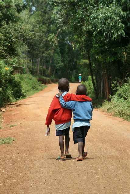 When you are happy, you have your friend and your health, you have everything! Kenya