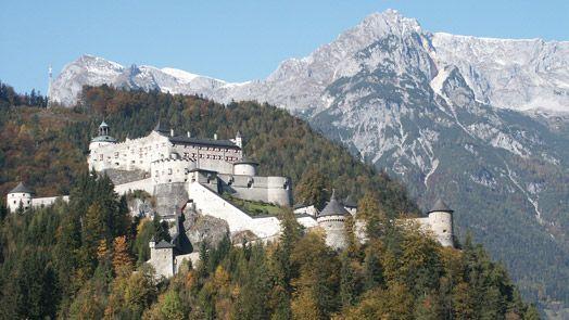 Hohenwerfen : Burg Hohenwerfen Österreich : Salzburgs Burgen und Schlösser