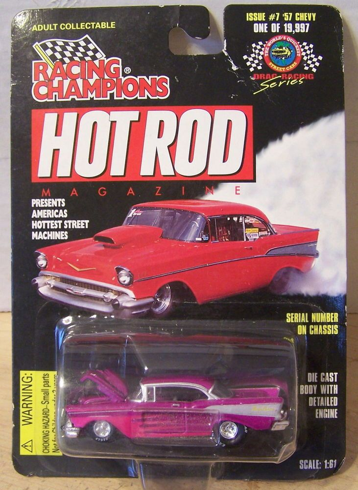 ctdRacing Champions 90's Hot Rod Magazine 007 '57 Chevy