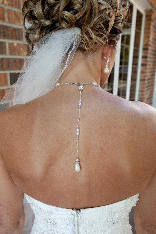 wedding necklace DIY