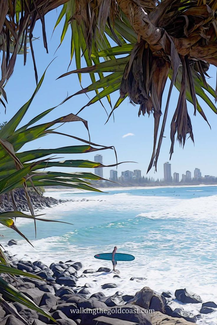 This Photo Is Taken From Burleigh Beach You Can See
