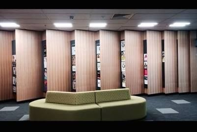 First Point Electrical.  Some of our work at Takapuna Library.
