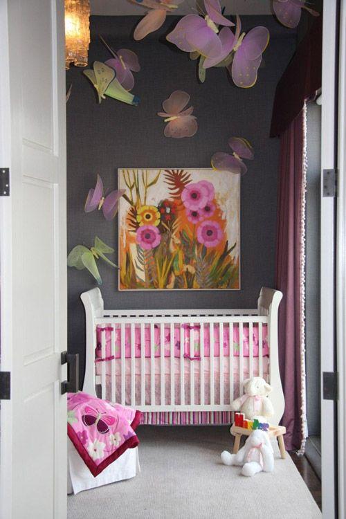 Decoraci n de cuartos de bebes ni as hogar ideal - Habitaciones bebes nina ...