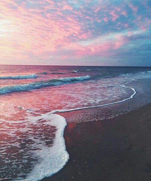Imagen de beach, sky, and ocean