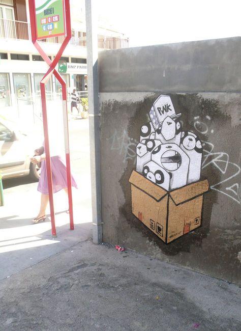 Street Art Par Etc - Paris (France)
