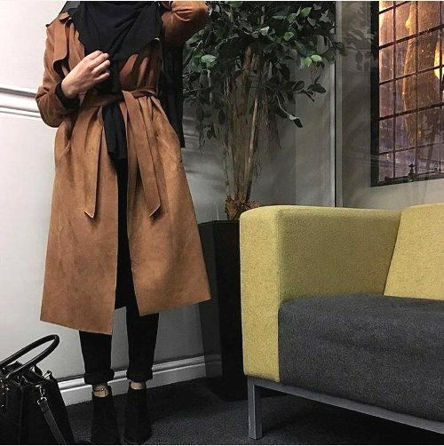Hijab fashion clothing in camel shades – Just Trendy Girls