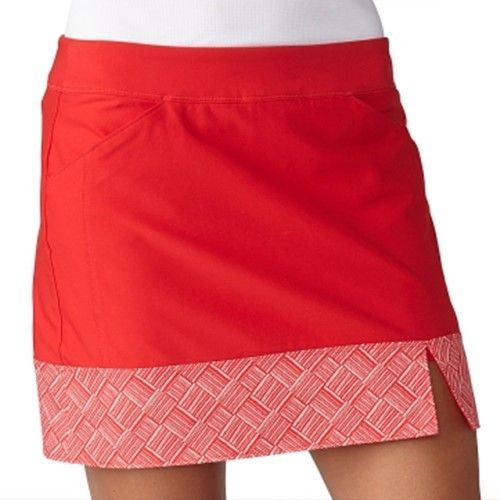 adidas Adistar Printed Hem Golf Skort 2016 Ladies