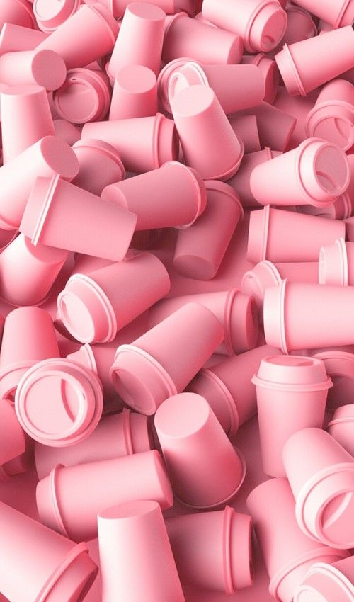 Pink Coffee Cups