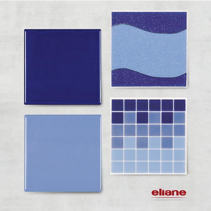 Azul naval cor 1800 c azul oceano cor 1600 for Azulejo azul