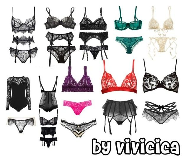 """""""maneater"""" by vivicica on Polyvore featuring Roberto Cavalli, Hanky Panky, Chantelle, Warehouse, L'Agent By Agent Provocateur, La Perla and Agent Provocateur"""