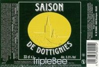 Label van Saison de Dottignies
