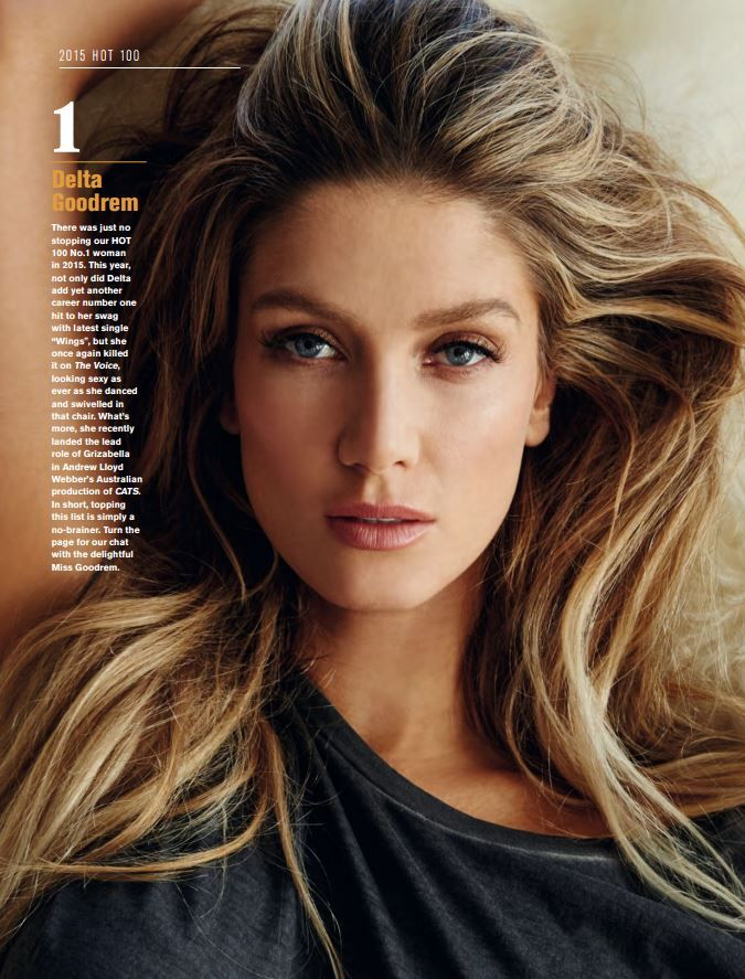 2015 Maxim Hot 100 Australia Celebrity hairstyles, Hair