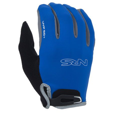 NRS Men's Rafters Gloves have long been a favorite of rowers and paddlers. Now they're better than ever with updated styling and an improved wrist closure. Protection from sun and blisters in a comfortable full-finger design.
