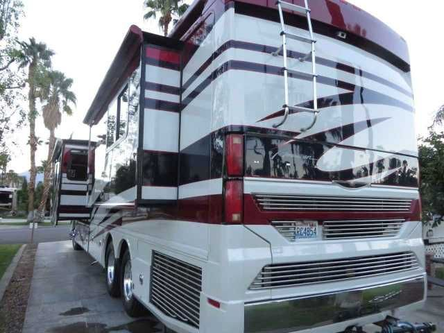 2006 Used Fleetwood American Heritage 45 Class A in Washington WA.Recreational Vehicle, rv, 2006 AMERICAN COACH HERITAGE 45A ...45 ' Length .. Coach is in Palm Springs for the winter ............ONE OF A KIND Paint Job ......Fully Loaded ...LOW MILEAGE COACH 29,000 Miles ... Powerful 525 CAT Diesel , Allison 6 Spd Trans , Built on SPARTAN chassis , Air Suspension , Incredible Drive n Ride ....4 Slides , 4 Full Remote control Patio Awnings , Complete full coverage Awnings on Both sides of…