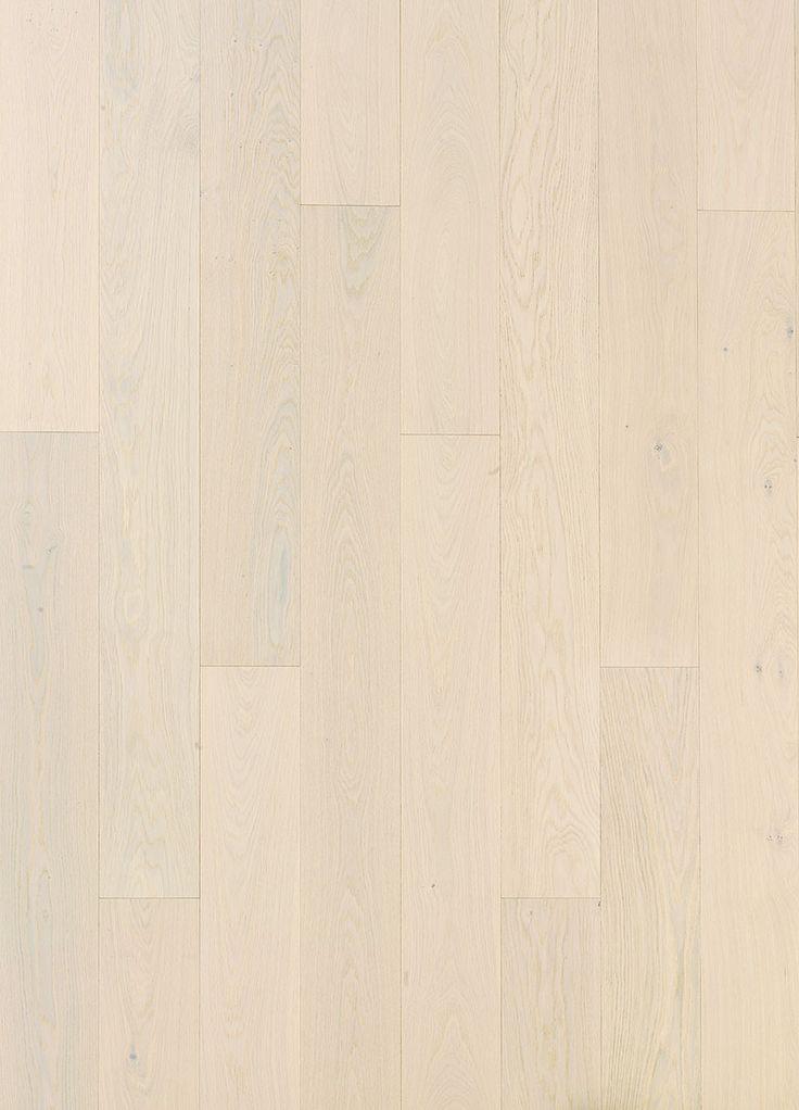 Grading picture of Oak parquet WHITE CREAM, brushed matt lacquered. www.timberwiseparquet.com  Lajitelmakuva Tammiparketti WHITE CREAM,  harjattu mattalakattu. www.timberwiseparketti.fi