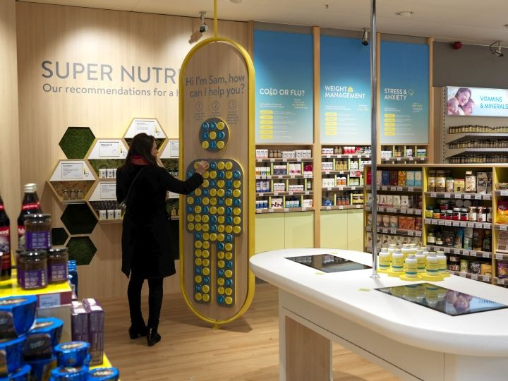 NutriCentre by The Yard Creative, London - UK. Visit City Lighting Products! https://www.linkedin.com/company/city-lighting-products