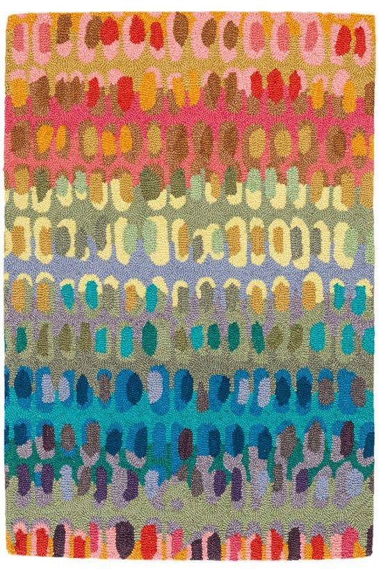 Dash Albert Paint Chip Micro Hooked Wool Rug A Off The Old Block