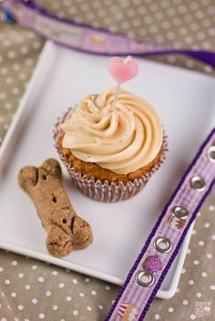 The 25 best Doggie cupcakes recipes ideas on Pinterest Dog