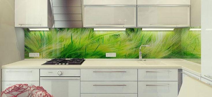 Küchenrückwand - 35 kitchen splashbacks glass - luxurious splash - spritzschutz küche glas