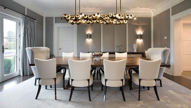 Cotswold style house dining room grade new york · dining tabledining roomshamptons houseyorkinterior designsouthamptondesign firmsstyleinterior