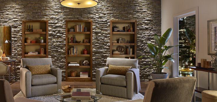 Tundrabrick: 37 Best Stone Fireplaces Images On Pinterest