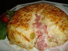 Batata Suiça... muito fácil!!!  :-)