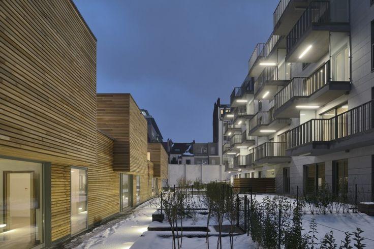 BAT 021 Housing,© Georges de Kinder + Serge Brison