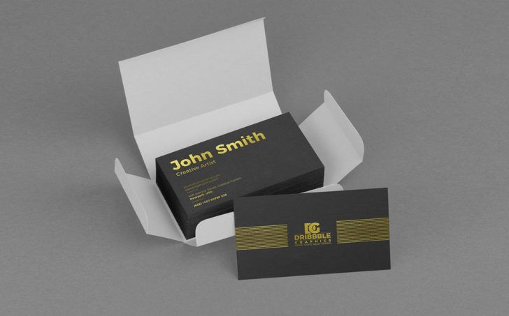 Download Free Business Card Stack Delivery Package Box Mockup Psd Business Cards Mockup Psd Free Business Cards Box Mockup