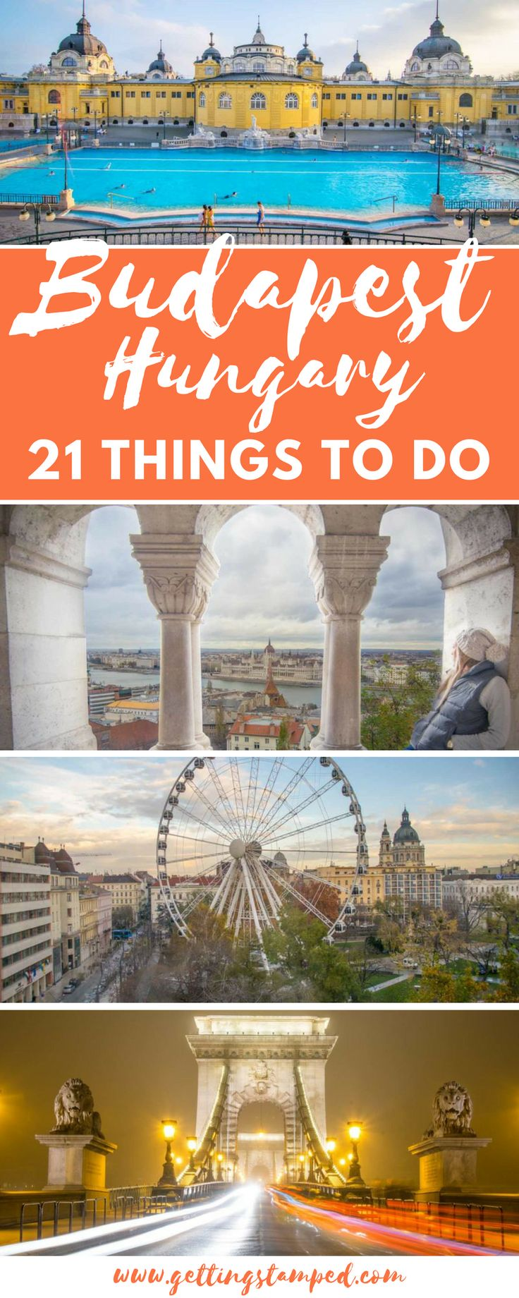 Traveling to #Europe? Don't overlook #Budapest! Budapest is the whole package: beautiful, safe, tons of things to do, tasty food, good beer, and budget friendly! || Getting Stamped - Couple #Travel & #Photography #Blog