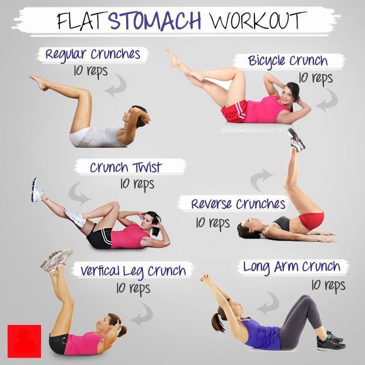 See how to get a flat stomach in a week using these awesome exercises. Read more what you are missing for tightening that weak belly of yours! #FitLiving
