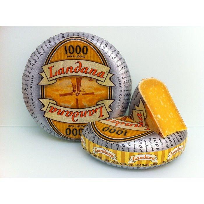 Sir Landana, starana 1000 dni. Optimalno zorjen nizozemski sir.