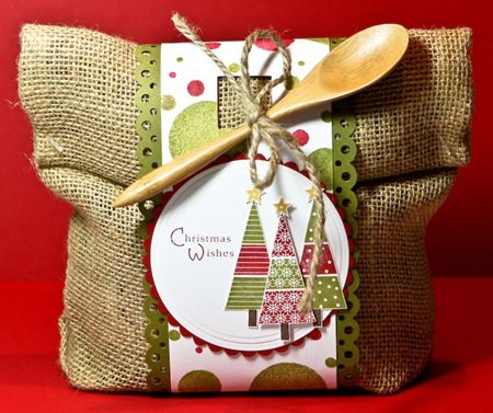 pretty packaging for gifts from the kitchen~