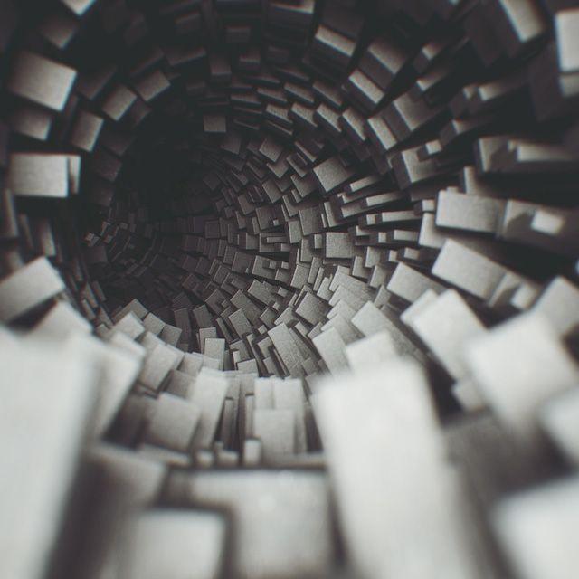Experimental Raw 3D Artworks by Joey Camacho