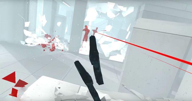 Time-bending shooter 'Superhot VR' arrives on HTC Vive  #steam #news