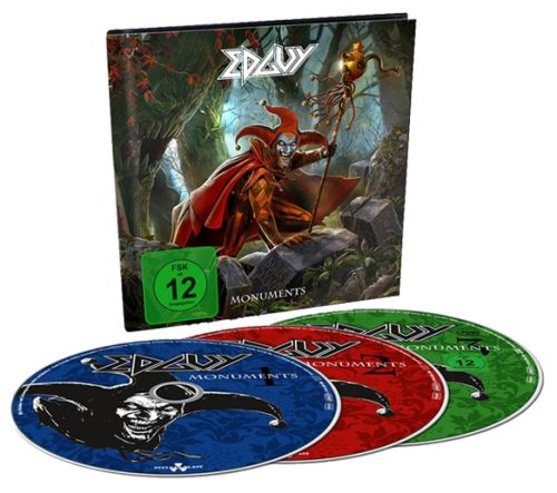 Edguy - Monuments [2CD+DVD] (2017)