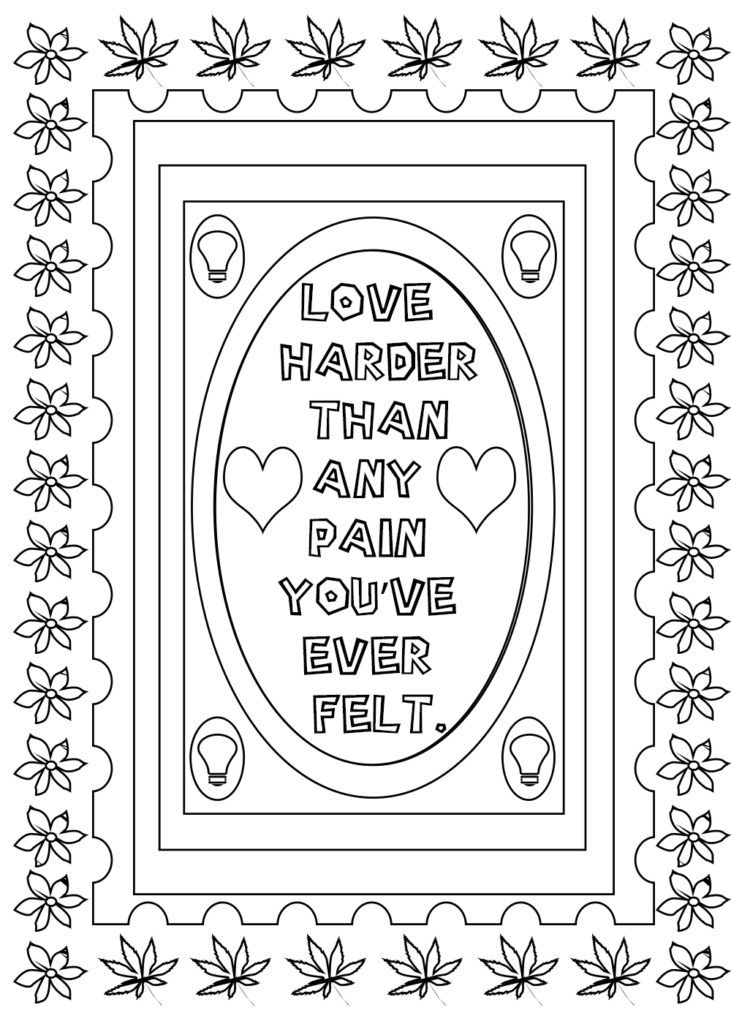 Love Quotes Coloring Pages For Teenagers Coloring Pages