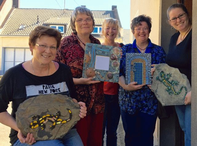 Mosaikkurse am Wochenende bei Tina Reisener-Krick