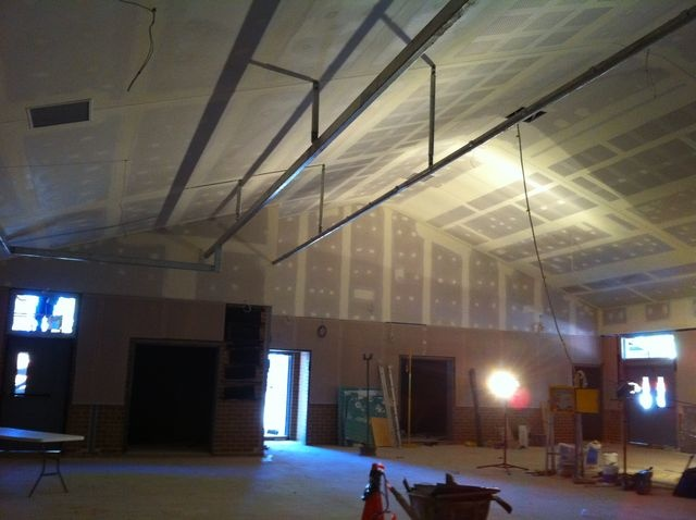 Commercial Painting Services.