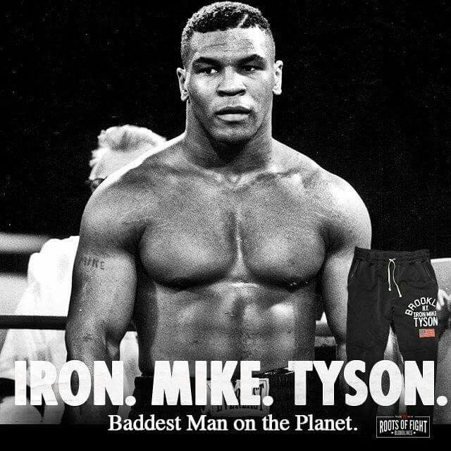 Mike tyson boxing poster