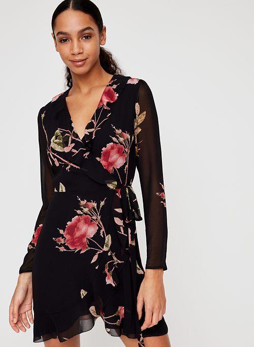 1fdbfff6e LOUISE DRESS | Aritzia | fall 2018 style | Dresses, Sheer chiffon ...