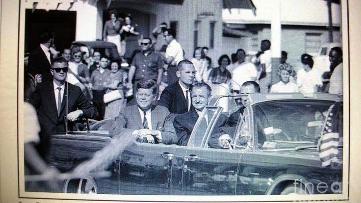 JFK in Tampa, Florida, on 11/18/63.