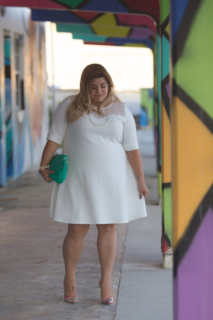 The Curvy Girl's Guide to The perfect Plus Size White Dress